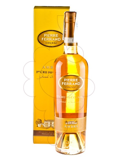 Photo Cognac Pierre Ferrand Ambre 1er cru