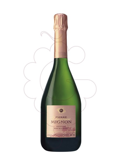 Photo Pierre Mignon Brut Prestige Rose sparkling wine