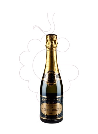 Photo Pierre Mignon Grande Reserve (mini) sparkling wine