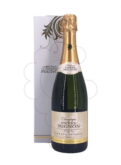 Photo Pierre Mignon Grande Réserve (pack) sparkling wine