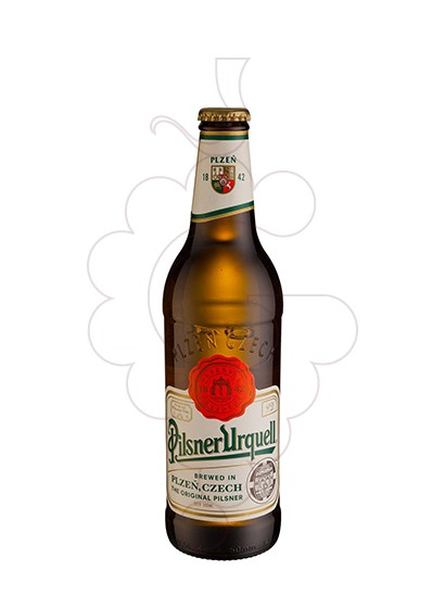 Photo Beer Pilsner Urquell ampolla