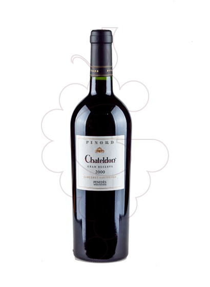 Photo Pinord Chateldon Gran Reserva red wine