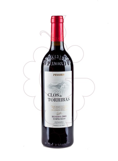 Photo Pinord Clos de Torribas Reserva red wine