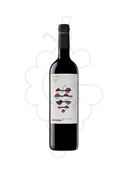 Photo Diorama Merlot red wine