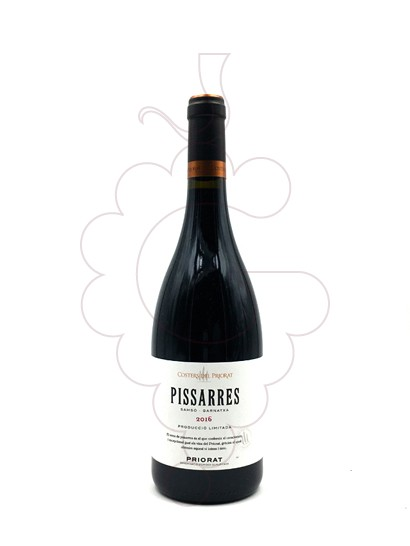 Photo Pissarres Negre  red wine
