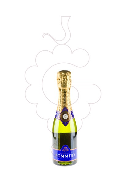 Photo Pommery Brut (mini) sparkling wine