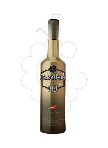Photo Liqueur Ponche Caballero 10 Premium