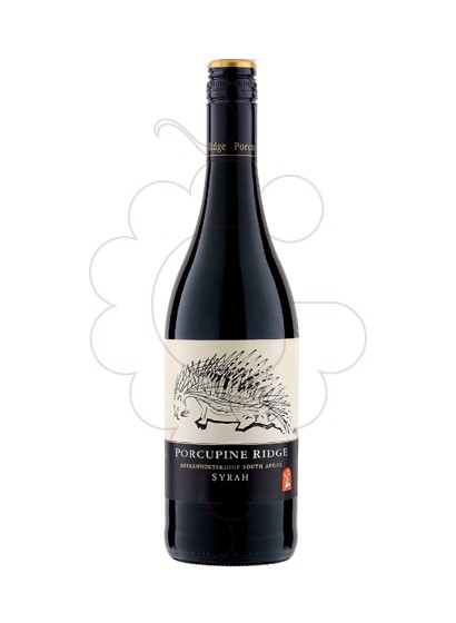 Photo Boekenhoutskloof Porcupine Ridge Shiraz red wine
