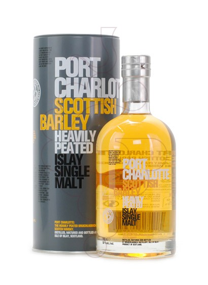 Photo Whisky Port Charlotte Scottish Barley