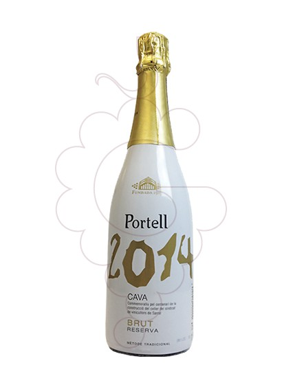 Photo Portell 1914/2014 Brut Reserva sparkling wine