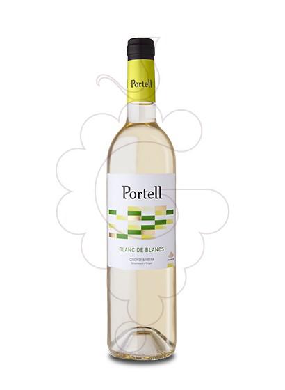 Photo Portell Blanc de Blancs white wine