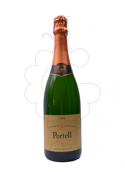 Photo Portell Brut Nature Reserva Vintage sparkling wine