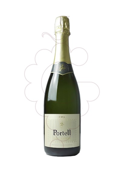 Photo Portell Brut Nature sparkling wine