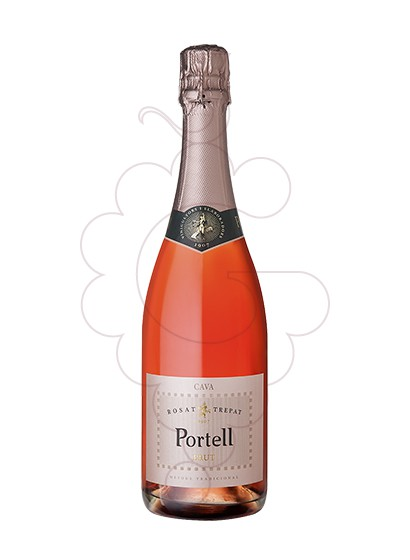 Photo Portell Rosat Brut sparkling wine