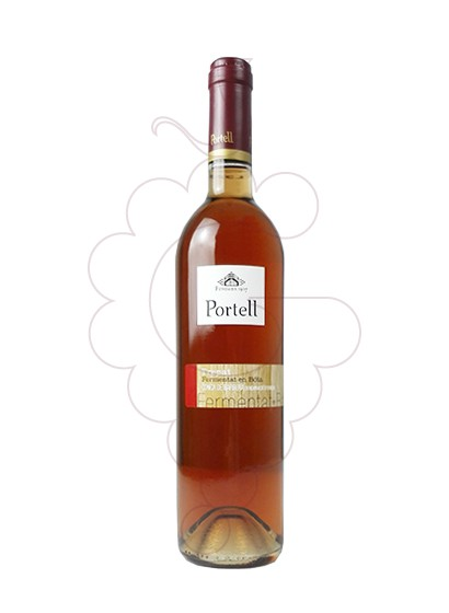 Photo Portell Rosat Fermantació Bota rosé wine