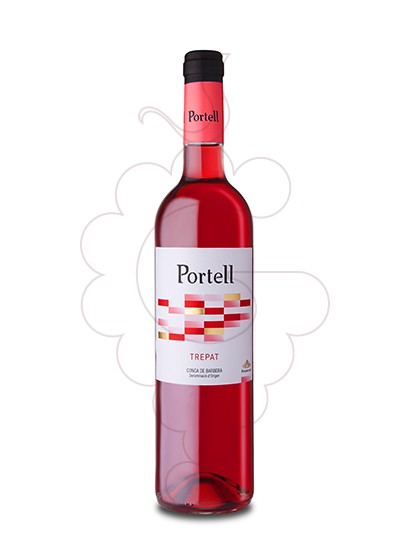 Photo Portell Rosat Trepat rosé wine