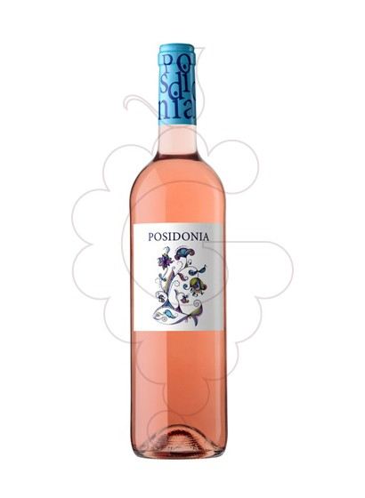 Photo Posidònia rosé wine