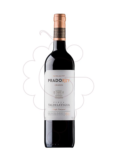 Photo Prado Rey Crianza red wine