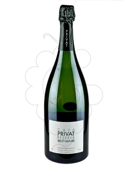 Photo Privat Reserva Brut Nature Magnum sparkling wine
