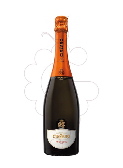 Photo Prosecco Cinzano sparkling wine