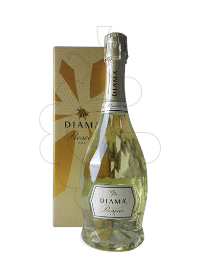 Photo Prosecco Diama Extra Dry sparkling wine