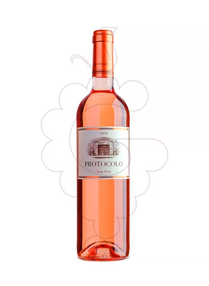 Photo Protocolo Rosat rosé wine