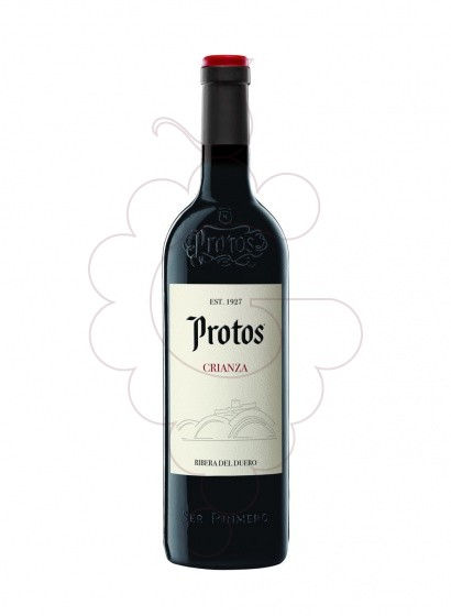 Photo Protos Crianza red wine