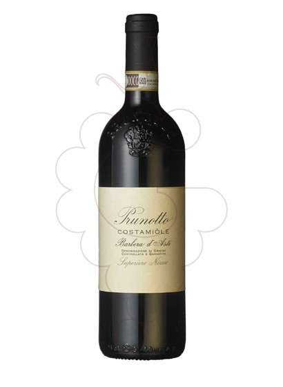 Photo Prunotto Costamiòle Barbera d'Asti red wine