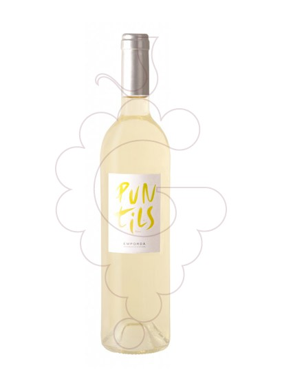 Photo Puntils Blanc white wine