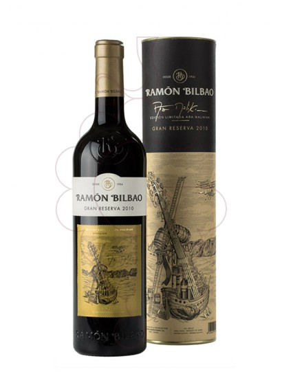 Photo Ramon Bilbao Gran Reserva red wine