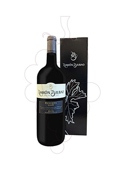 Photo Ramon Bilbao Reserva Magnum  red wine