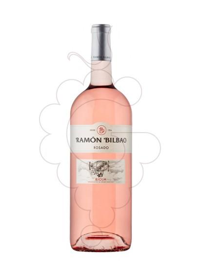 Photo Rosé Ramon Bilbao Magnum rosé wine