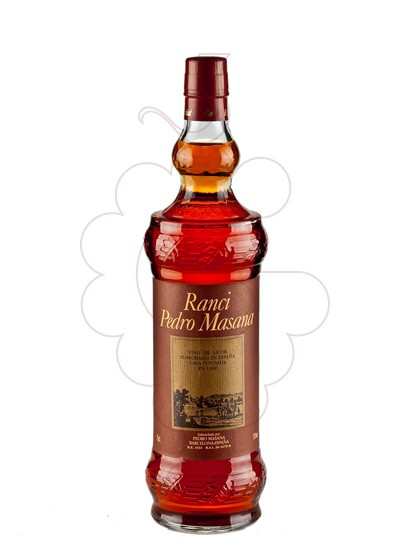 Photo Ranci Pedro Masana fortified wine