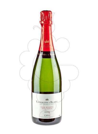 Photo Raventos i Blanc Brut Gran Reserva de la Finca sparkling wine