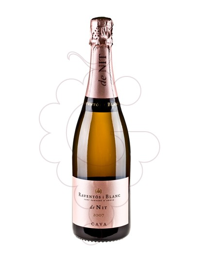 Photo Raventos i Blanc de Nit Rose sparkling wine