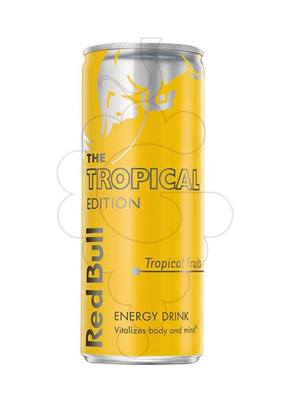 Photo Soft drinks Red Bull Tropical