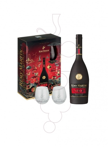 Photo Gift boxes Remy Martin V.S.O.P Pack (1 u + 2 glasses)