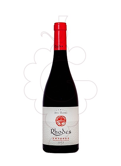 Photo Rhodes red wine