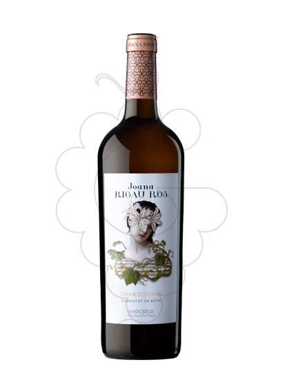 Photo Rigau Ros Blanc Chardonnay F. B. white wine