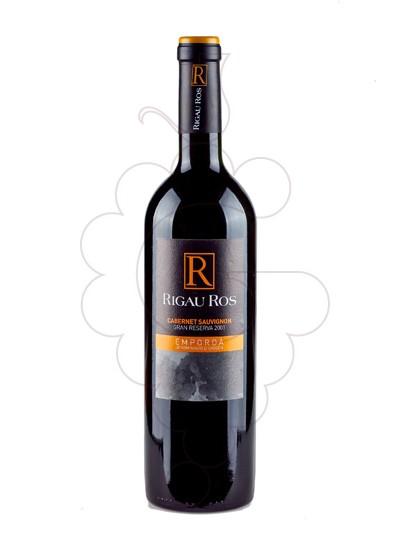 Photo Rigau Ros Cabernet Gran Reserva red wine