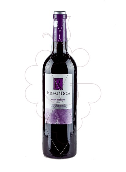 Photo Rigau Ros Negre Gran Reserva red wine