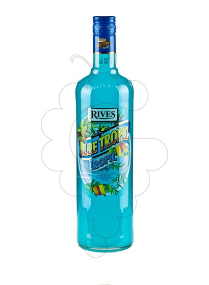 Photo Syrups Rives Blue Tropic