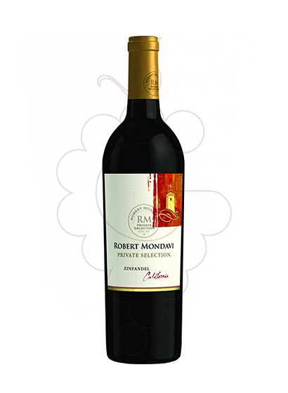Photo Robert Mondavi Private Zinfandel red wine