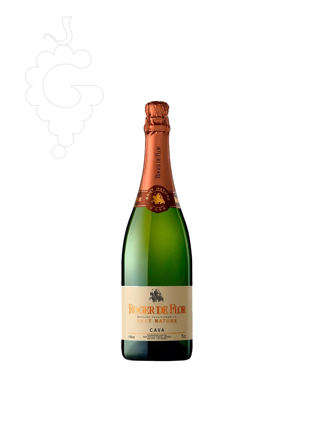 Photo Roger de Flor Brut Nature sparkling wine