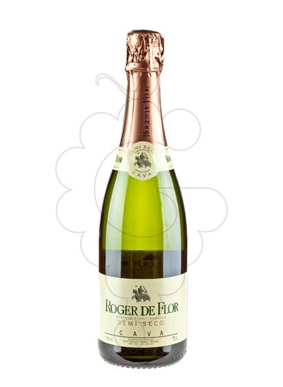 Photo Roger de Flor Semi sparkling wine