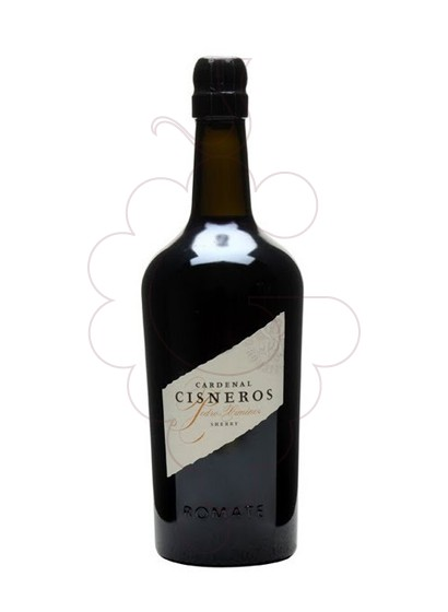 Photo Romate Cardenal Cisneros P. X. fortified wine