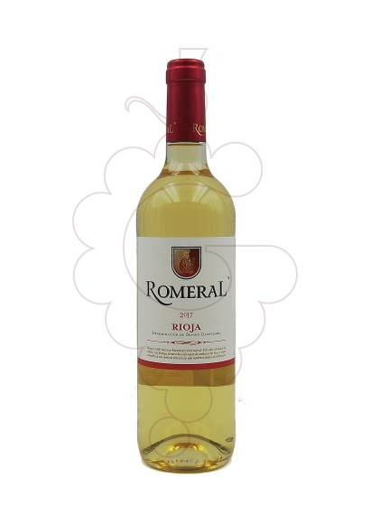 Photo Romeral Blanc white wine