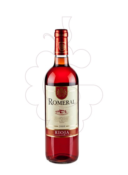 Photo Romeral Rosat rosé wine