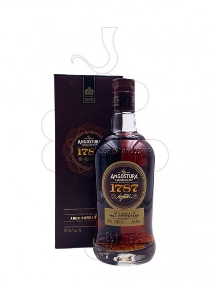 Photo Rum Angostura 1787