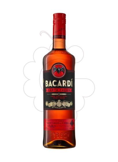 Photo Rum Bacardi Carta Fuego Spiced